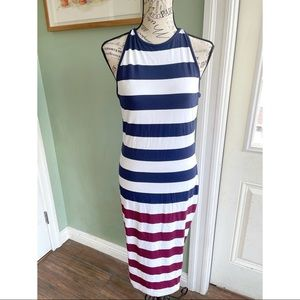 NWT Ted Baker Rowing Stripe Bodycon Dress